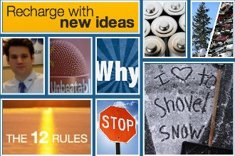 Get a lift of new ideas, insights, and inspiration